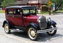 Oude  en oudere auto's / Over auto's die al oud en ouder zijn vanaf 1900 tot 1970/80