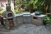 Outdoor Kitchens, Ovens ,BBQ's & Fire pits