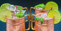 Copper Beer Mug - 24oz / The copper beer mug is probably one of our favorite mugs, not only is the design unique, but it can hold up to 24 ounces!  #coppermugs #mules #copperbeermug #mugset #giftforhim