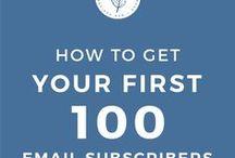 Email list building + Blogging / Email marketing, email list tips, list building strategies, email copywriting, email list growth, email list design, email list growth, list building ideas, blogging, blog traffic, make money blogging, blogging tips, entrepreneur