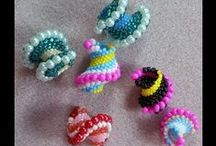 Crafts, mainly beads and crochet