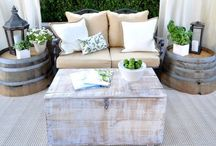 Outside patio furniture