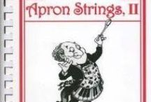 """Apron Strings II RSOL Cookbook & other Melodious Pinterest Sundries www.RSOL.org  / Order your cookbook at info@rsol.org. The Richmond Symphony Orchestra League has published """"Apron Strings II,"""" a cookbook featuring more than 200 recipes. Net proceeds will benefit the Richmond Symphony. Local cookbook author, instructor and TV culinary personality Jan Carlton edited the book. """"Apron Strings I"""" was published in 1984. The Richmond Symphony Orchestra League, which formed in 1958 as the Women's Committee of the Richmond Symphony, sponsors fundraisers to benefit Richmond Symphony."""