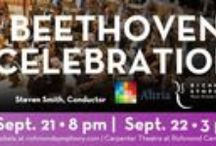 RSOL Loves Beethoven & the Richmond Symphony's Beethoven Celebration 9/21-9/22/13 / Tickets still available for the Beethoven Celebration this weekend 9/21-9/22/13!