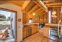 Kitchen / Kitchen of Abalone Bay Sea Ranch Vacation Rental Home http://www.abalonebayhome.com/  http://www.searanchabalonebay.com/ #AbaloneBay #SeaRanch, #vacation #VacationRental #vrbo #VacationHome #Mendonoma