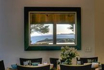 Dining room / #Dining room #decor of Abalone Bay Sea Ranch Vacation Rental Home  http://www.searanchabalonebay.com/ #AbaloneBay #SeaRanch, #vacation #VacationRental #vrbo #VacationHome #Mendonoma