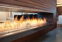 Sustainable Fire / Inspirational fireplaces including indoor, outdoor and sustainable options to keep your design fires burning.
