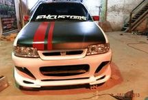 Kadett  Modificado / Kadett com Parachoques da Excustoms Tuning