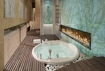 Modern Baths / Picture yourself taking a dip in one of these modern baths - feel more relaxed?