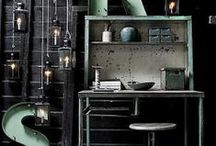 Industrial Spaces / Nothing says edgy, bold & unique more than industrial spaces - here are our favorites