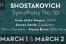 """3/1-3/2/14 Anne Akiko Meyers & the Richmond Symphony Perform Liadov, Shostakovich, and Mason Bates / Celebrated violinist Anne Akiko Meyers performs with the """"ex-Vieuxtemps"""" Guarneri del Gesu - one of the most iconic violins ever made! Join Anne Akiko Meyers and the Richmond Symphony on March 1-2 at Richmond CenterStage when she plays Shostakovich Symphony No. 10, Liadov's Enchanted Lake, and Mason Bates' Violin Concerto especially commissioned for her!"""