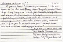 From our Guestbook / Reviews of Abalone Bay   http://www.searanchabalonebay.com/ #AbaloneBay #SeaRanch, #vacation #VacationRental #vrbo #VacationHome #Mendonoma , #travel #guest #review #visit
