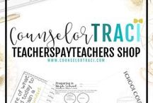 CounselorTraci TeachersPayTeachers Store / Everything counselor and organization related! Saving you time and money! I serve unique counselors who want fresh ideas involving college success by offering them captivating resources that matter. College preparation, printables, worksheets and tips! Visit: https://www.teacherspayteachers.com/Store/Counselor-Traci-R-Brown