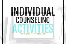 Individual Counseling Activities / Activities, ideas, and resources for running individual counseling sessions. I serve unique counselors who want fresh ideas involving college success by offering them captivating resources that matter. College preparation, printables, worksheets and tips!