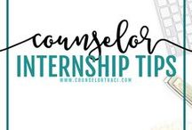 Counselor Internship Tips / All things preparation related for your school counseling internship! Interview, wardrobe and portfolio preparation! I serve unique counselors who want fresh ideas involving college success by offering them captivating resources that matter. College preparation, printables, worksheets and tips!