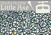 Printed and Co. Ursula Hunter, Little Axe