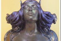 Zsolnay Figurines, Sculptures