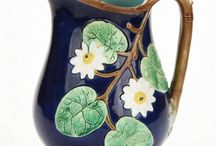 Majolica Pitchers