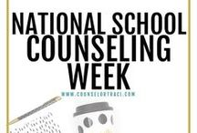 National School Counseling Week / One place to find all the best ideas for National School Counseling Week! I serve unique counselors who want fresh ideas involving college success by offering them captivating resources that matter. College preparation, printables, worksheets and tips!