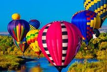 BALLOONS AROUND THE WORLD / Balões coloridos e alegres ao redor do mundo.