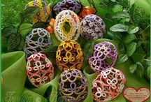 Tatted Easter Eggs and Other Oddities