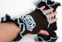 gloves and fingerless mits
