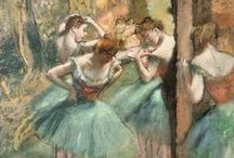 Paintings by Degas