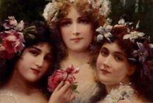 Paintings by Emile Vernon