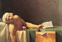 Paintings by Jaques Louis David