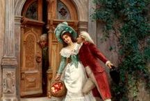 Paintings by Jules Girardet
