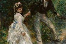 Paintings by Renoir