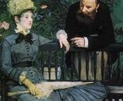 Paintings by Manet