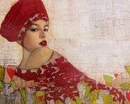 Paintings by Richard Burlet