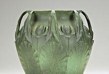 Teco Green Pottery
