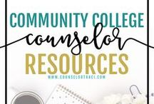 Community College Counselor Resources / I serve unique counselors who want fresh ideas involving college success by offering them captivating resources that matter. College preparation, printables, worksheets and tips! Perfect for community college counselors!