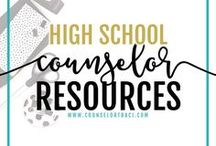 High School Counselor Resources / I serve unique counselors who want fresh ideas involving college success by offering them captivating resources that matter. College preparation, printables, worksheets and tips! Perfect for high school counselors!