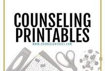 Counseling Printables / I serve unique counselors who want fresh ideas involving college success by offering them captivating resources that matter. College preparation, printables, worksheets and tips!