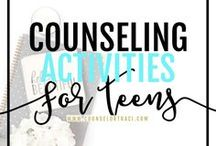 Counseling Activities for Teens / Counseling activities for teens, including life skills! I serve unique counselors who want fresh ideas involving college success by offering them captivating resources that matter. College preparation, printables, worksheets and tips!