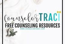 Free Counseling Resources | CounselorTraci.com / Find FREE resources for counselors here! I serve unique counselors who want fresh ideas involving college success by offering them captivating resources that matter. College preparation, printables, worksheets and tips!