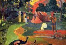 Paintings by Gaugin