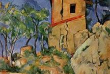 Paintings by Cezanne