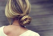 Undone Bun / Book yourself in for the perfect tousled bun this summer at blowltd.com!