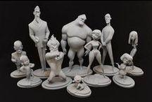 Character 3D Model & Sculpture