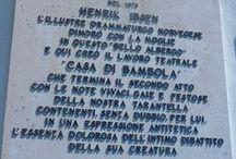 Henrik Ibsen on the Amalfi Coast / Henrik Ibsen, the world famous play writer spent 11 years in Italy, many of them on the Amalfi Coast. All photos by Eli Folkestadaas