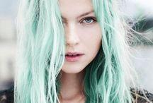 Pastel hair / #hair #color #pastel #beauty