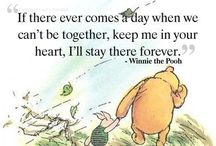 Pooh and other friends / This board is a collection of essential knowledge and wisdom.