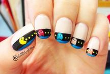 Nerdy Nails / Props to anyone who can design and execute these geeky nail masterpieces!