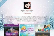 Roll and Art / Roll and Art website and our works