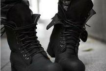Male Shoes / Tough pair of boots is always needed.