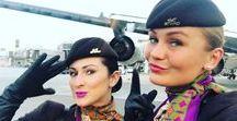 Flying Ladies / The most sexy occupation in the whole world